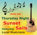 Thursday Night Music Sunset Sails