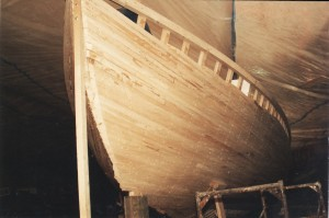 Schooner Woodwind was commisioned late 1992. This picture was taken in eary 1993.