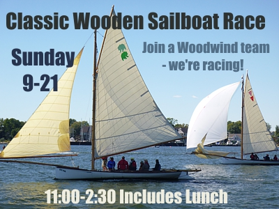 Classic Wooden Sailboat Regatta