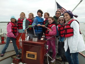 We educate girl scouts about the &quot;Wonders of Water&quot; and sailing using an interactive approach while cruising the Chesapeake Bay.