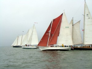 Great Chesapeake Bay Schooner Race on Schooner Woodwind