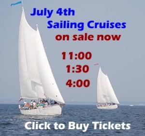 Sail on Schooner Woodwind- July 4