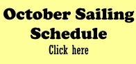 October Sailing Schedule