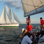 Schooner Racing in Annapolis