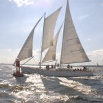 Schooner Woodwind sailing in Annapolis and Chesapeake Bay