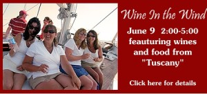 Wine in the Wind,  June 9