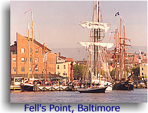 1996 Great Chesapeake Bay Schooner Race, Fell's Point