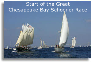 2000 Great Chesapeake Bay Schooner Race Start