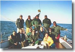 2001 Great Chesapeake Bay Schooner Race Start Crew