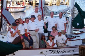 2011 Great Chesapeake Bay Schooner Race Crew on Woodwind