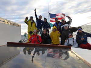 2013 Woodwind Team for Great Chesapeake Bay Schooner Race