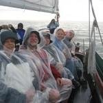 Schooner Woodwind sails Rain or Shine