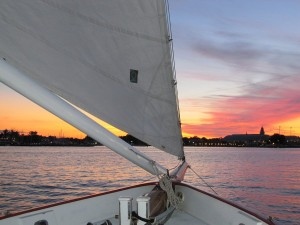 Schooner Woodwind beer tasting and sunset sails
