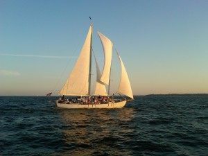Sailing on the Schooner Woodwind in Annapolis, MD