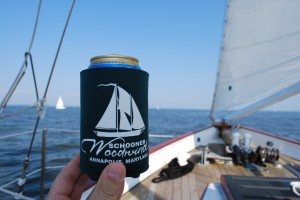 Schooner Woodwind Koozie