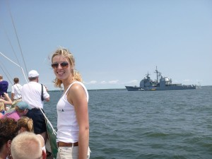 USS Gettysburg visits Annapolis over Memorial Day Weekend