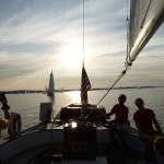 Wednesday Night Racing in Annapolis aboard Woodwind II