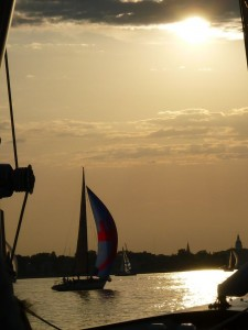 Wednesday Night Racing in Annapolis aboard Woodwind