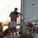 Eastport Oyster Boys jammin' on the Chesapeake Bay