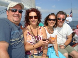 Wine in the Wind on Schooner Woodwind in Annapolis