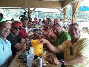 Sailing to a Crabfeast at Cantler's Crab House on the Schooner Woodwind