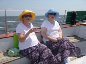 Birthday Girls on Schooner Woodwind