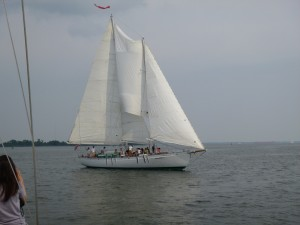 Schooner Woodwind on the Bay