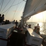 Sailing into the Sunset with local music aboard the Woodwind