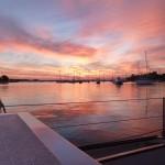 Sunrise In Annapolis Aboard Schooner Woodwind
