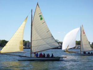 Sandbaggers racing in Annapolis
