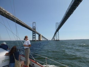 Rena and the Chesapeake Bay Bridge