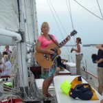 Deanna Dove aboard The Schooner Woodwind