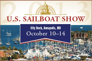 Sailboat Show Tile Ad