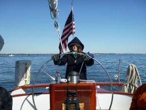 Lily at the Helm