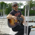 Tony Lucca singing on the Schooner Woodwind