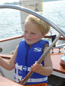 Lucas, 4 and a half years old helming the Woodwind