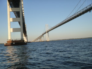 Chesapeake Bay Bridge... on The Woodwind