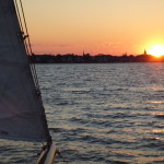 Sunset on the Annapolis Skyline