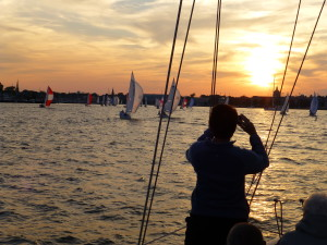 Amazing night of great sailing, friends and photos