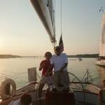 Jack Sherwood and Captain Jen