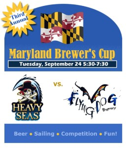 Heavy Seas vs Flying Dog Sailing Race