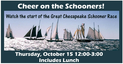 Cheer on the Schooners in the Chesapeake Bay Race
