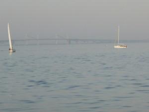 Haze on the Bay....