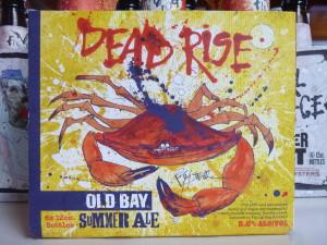 Dead Rise beer on the Schooner Woodwind