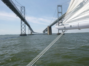 Why is there a turn in the bridge? if you've sailed with me you should know