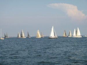 Start of the Solomon's Island race