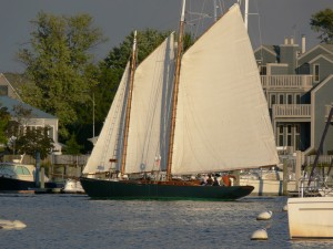 Adventurer, was built in 1928 in Connecticut and is owned by our friend, Mark  Faulstick.