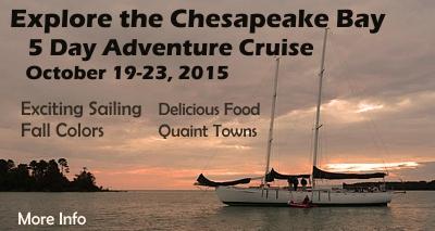 5 Day Adventure Cruise on the Chesapeake