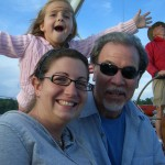 Having fun on Schooner Woodwind with family