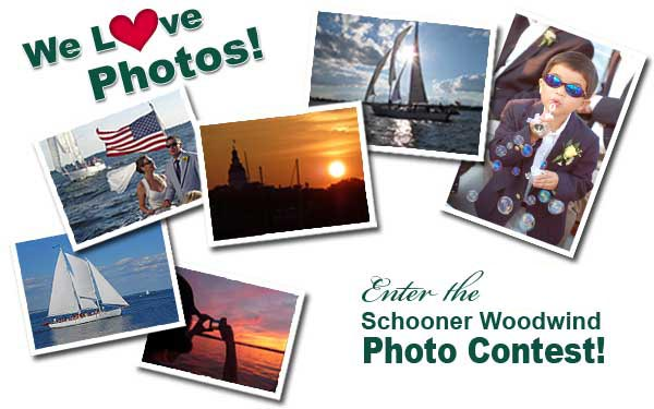 Enter the 2012 Schooner Woodwind Photo Contest for your Chance to win the Grand Prize